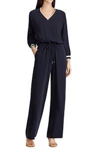 Lauren Ralph Lauren Twill Dolman sleeve jumpsuit